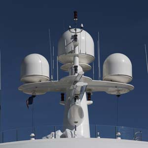 Yacht satellite communications 1