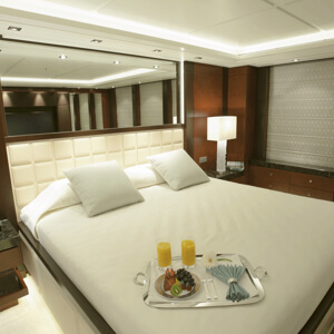 Image of a yacht's cabin